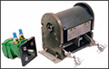 Hydraulic Driven Atomizers and Peristaltic Pumps can be Used for High Voltage Systems